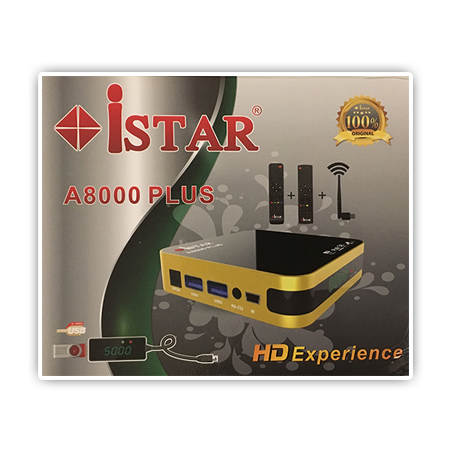 iStar Korea IPTV/ Online TV full HD receiver