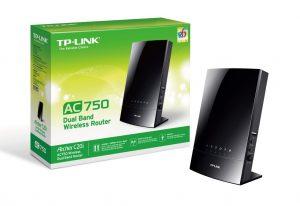 TP-LINK Archer C20i AC750 4 PORT WIRELESS ROUTER 750 Mbit