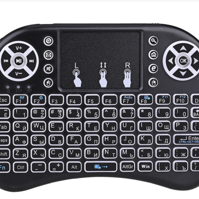 Keyboard Mouse Touchpad Remote