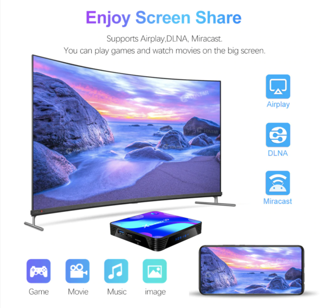 2020 neue X88 Pro 10 Android 10 Samrt TV Box
