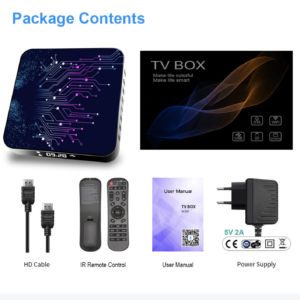 Android Topsion Smart TV Box Android 10 4GB 64GB 4K