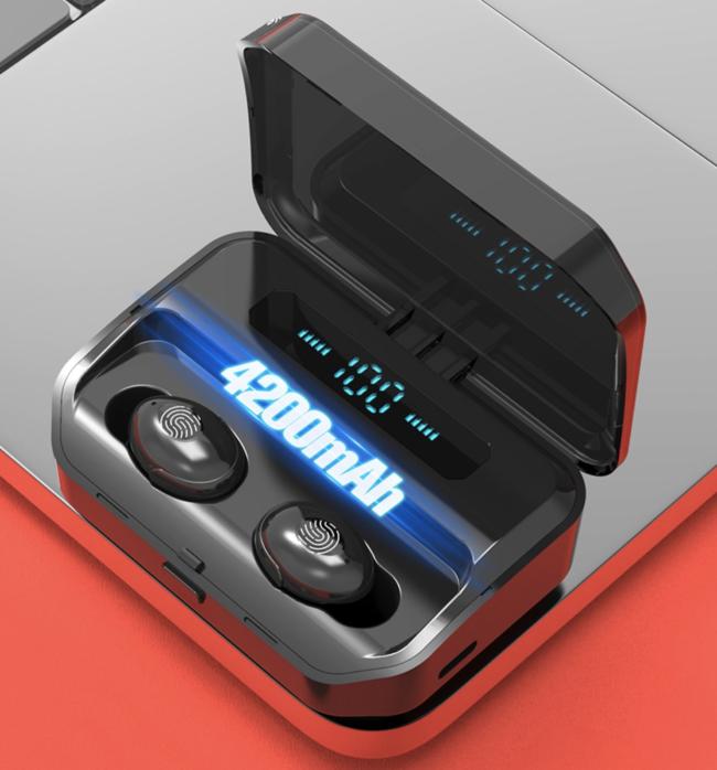 4200mAh TWS Bluetooth 5,0 Eaphones Mit Lade Fall Drahtlose Kopfhörer-9